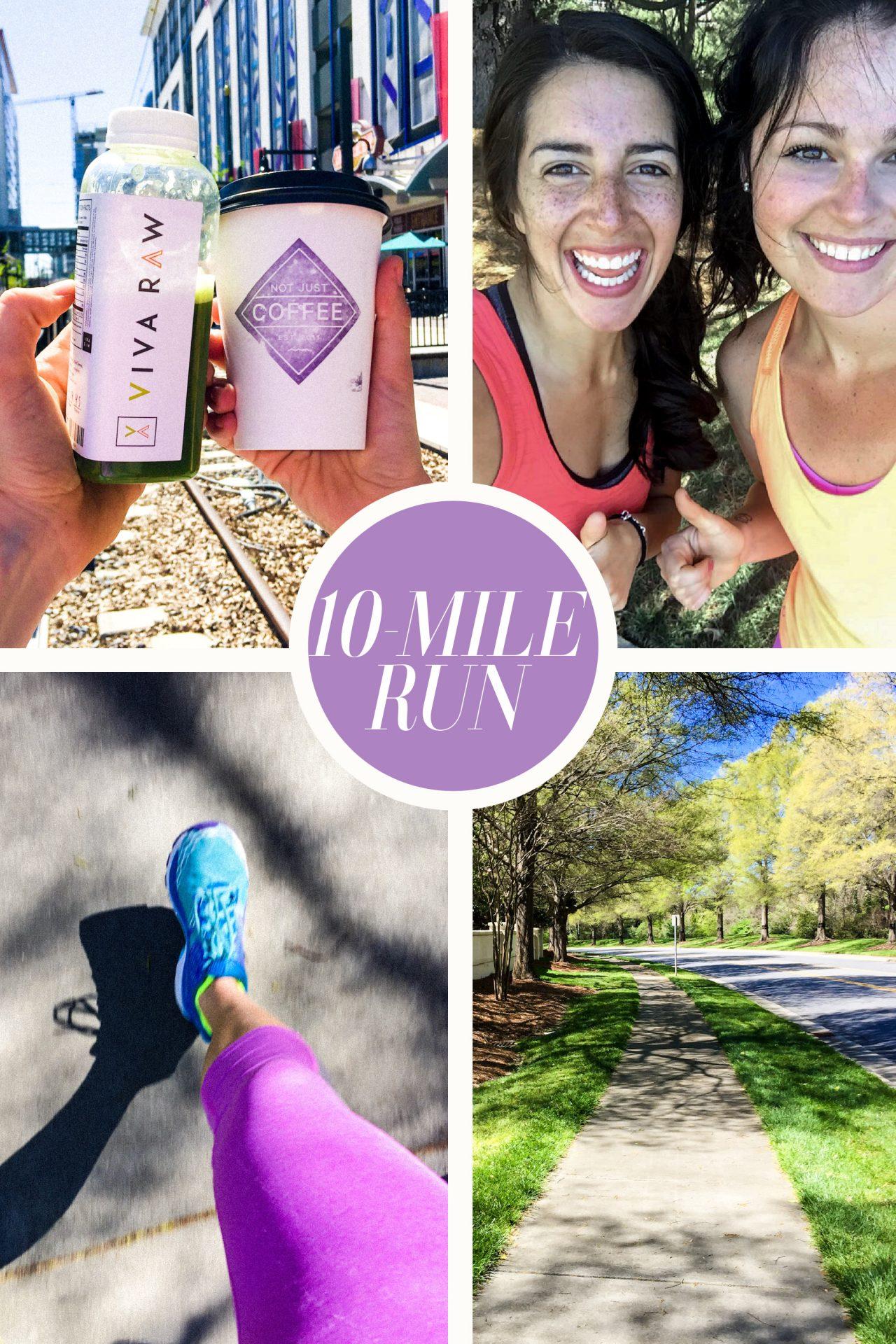 10 mile run half marathon training
