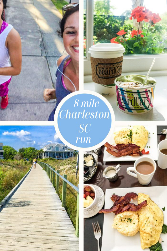 Half Marathon Training | Charleston Long Run + Beach & Food