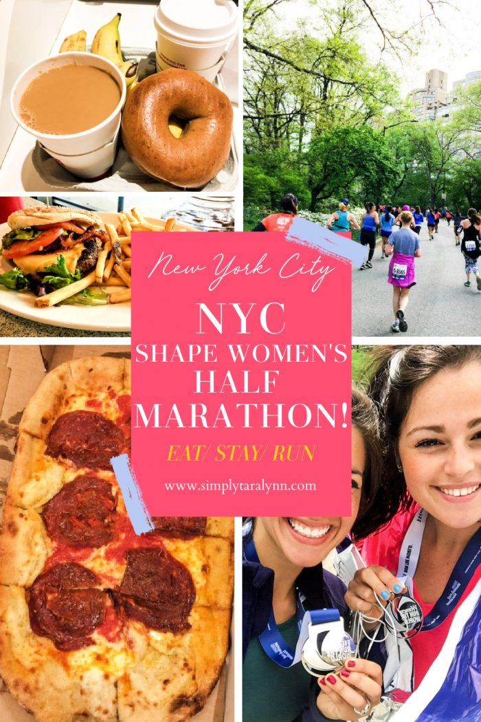 My New York City Shape Women's Half Marathon Recap!