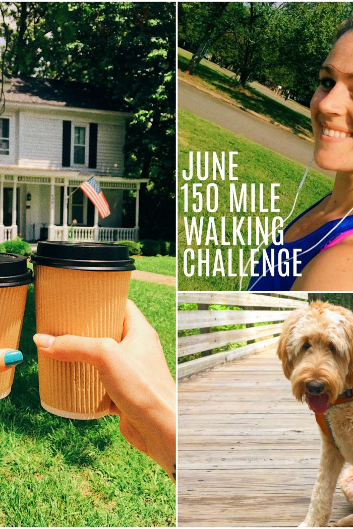 150 Mile (5 a Day) June Walking Challenge