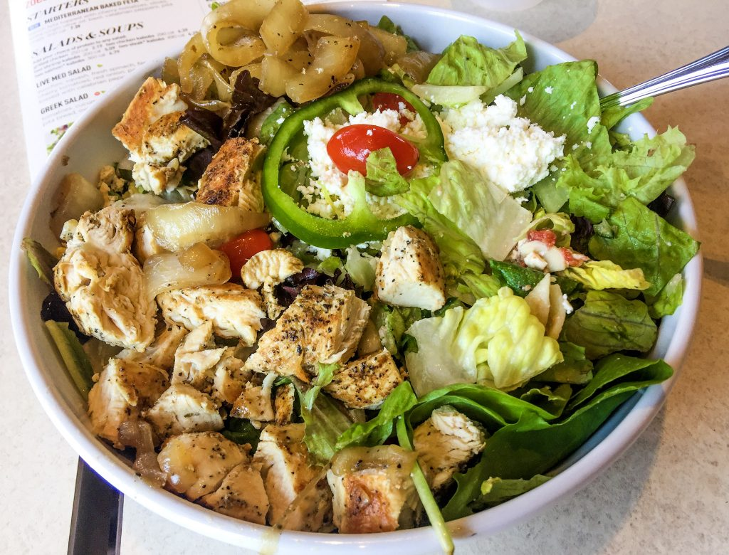 ZOE'S KITCHEN TOSSED GREEK SALAD