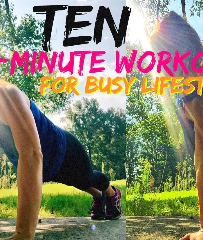 Ten 15-Minute Workouts for Busy Lifestyles