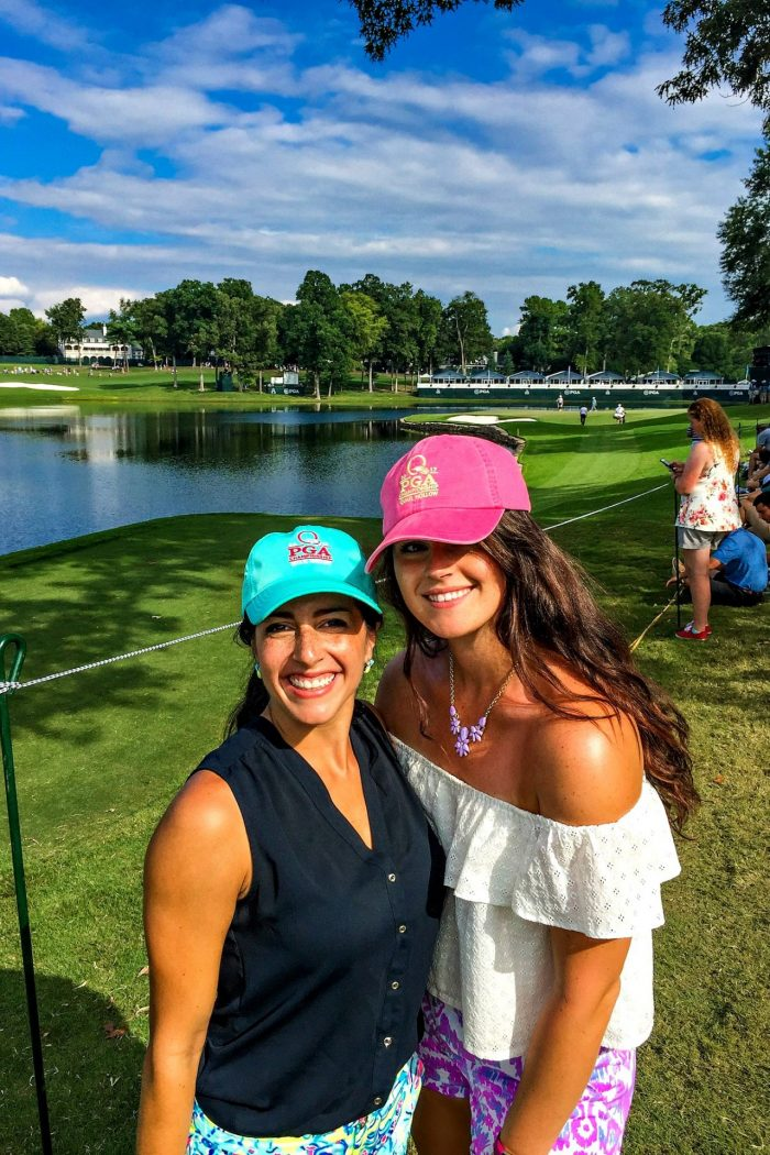PGA Tour, Fitness, & Food! (oh, & new hair)