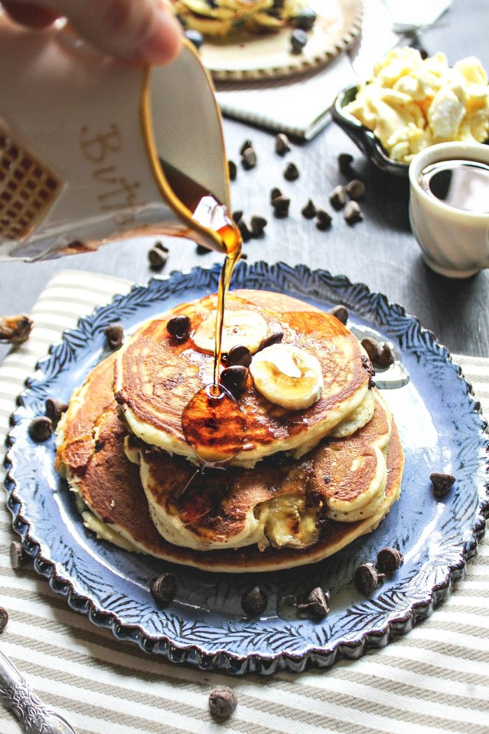 Perfectly Whipped Egg White Pancakes