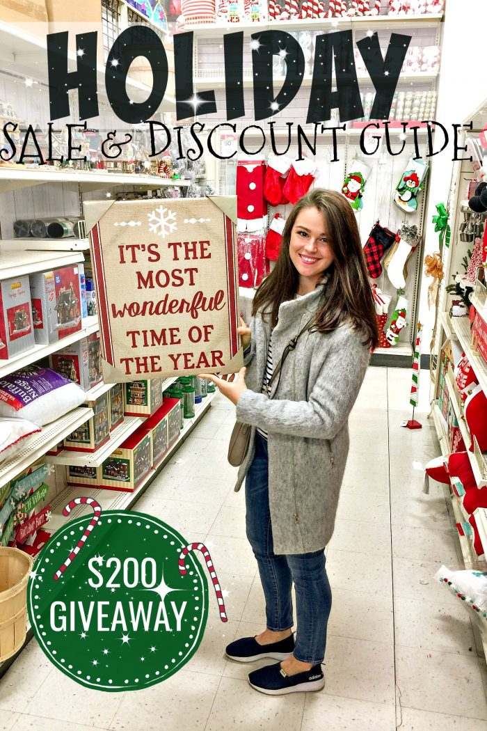 Holiday Sale & Discount Guide + $350 Giveaway!