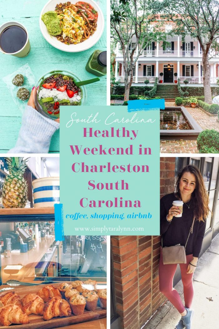 Healthy Charleston Eats & A Relaxing Weekend Getaway