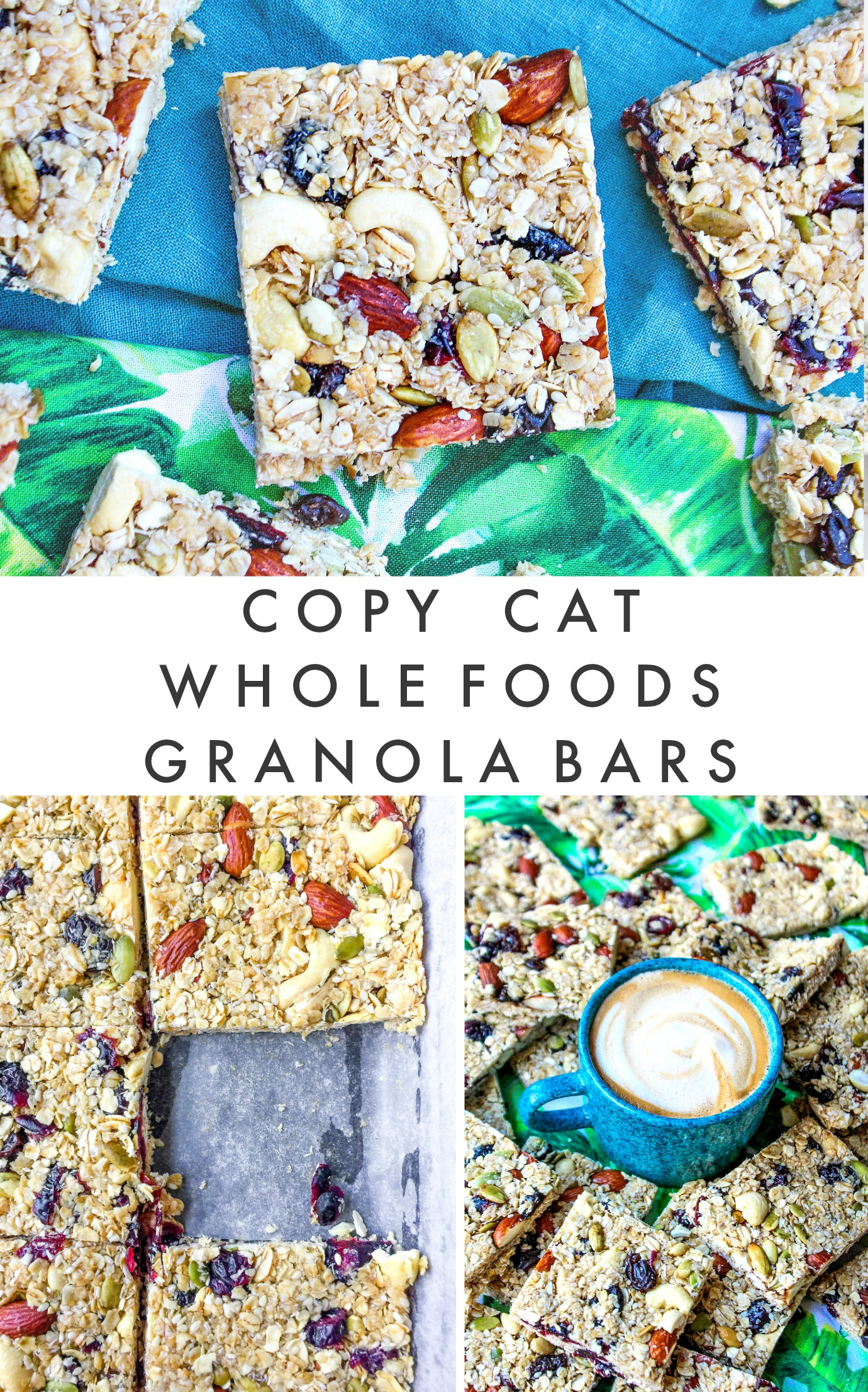 Copycat Homemade Whole Food S Granola Bar Recipe Simply Taralynn Food Lifestyle Blog