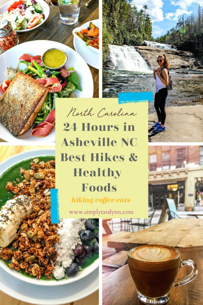 An Asheville Weekend: Hiking, Waterfalls, & Vegan Bites!