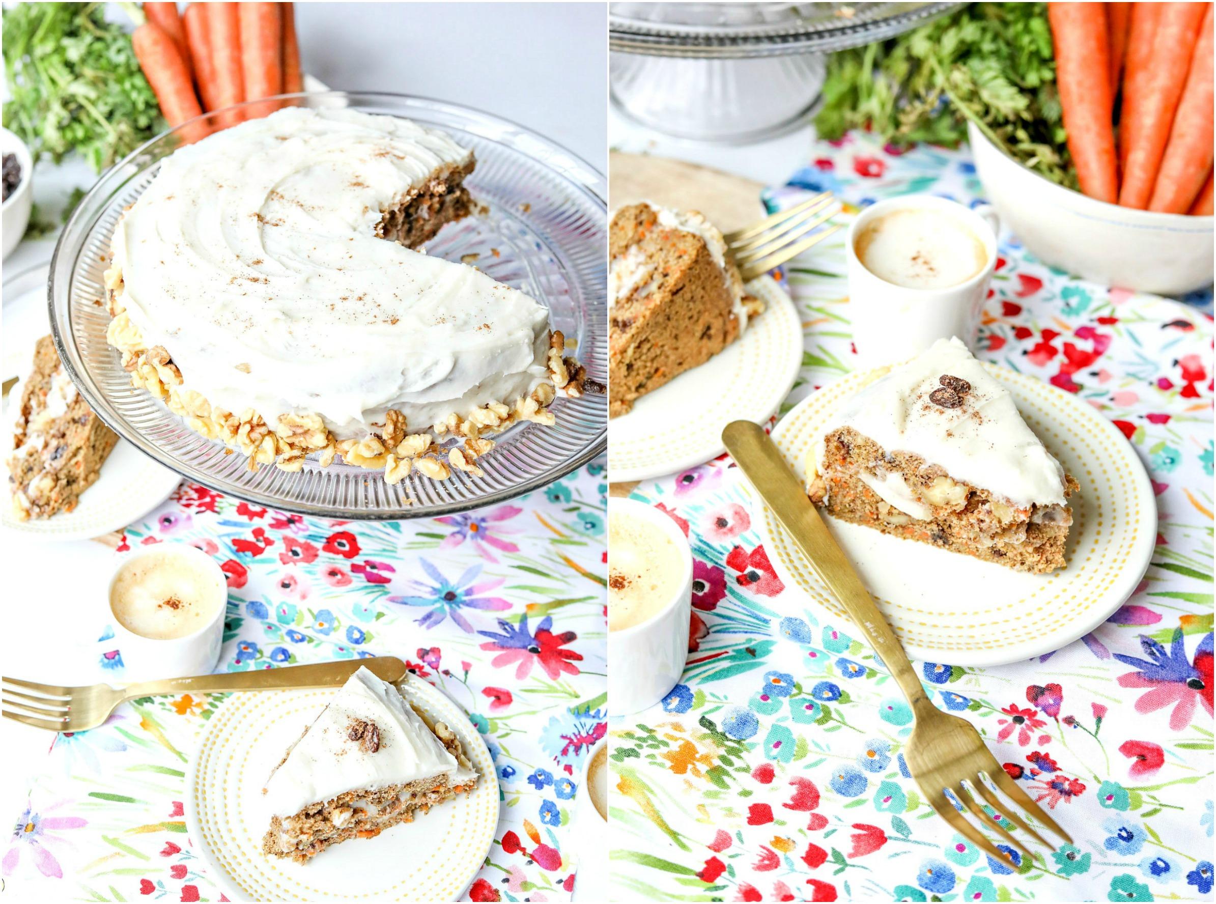 The Best Vegan Carrot Cake Gluten Free Amp No Sugar