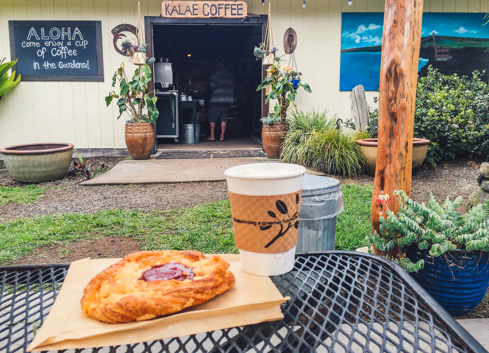 Kalae Coffee Shop, The Most Southernmost Coffee shop in the U.S.