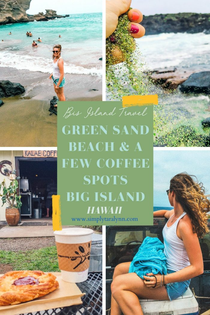 Big Island Adventure: Green Sand Beach & Coffee Spots!