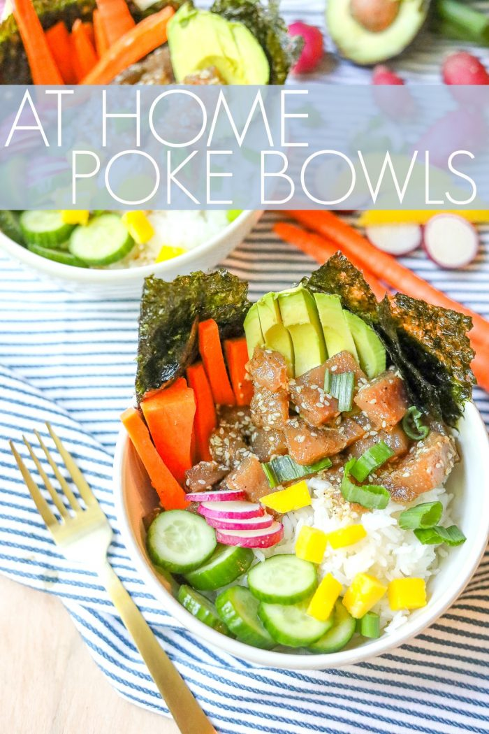 How to Make a Healthy & Fresh Poke Bowl At Home 🍣