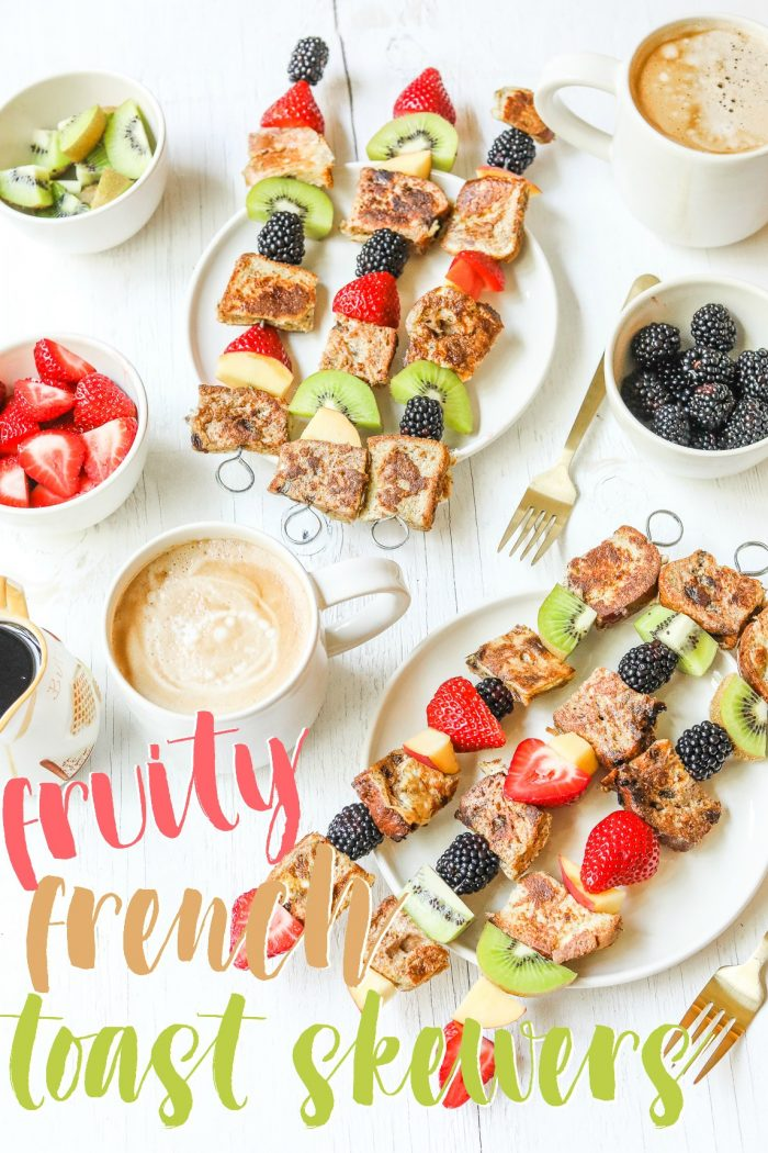 Spice Up Your Brunch With Fruity French Toast Skewers 🥝