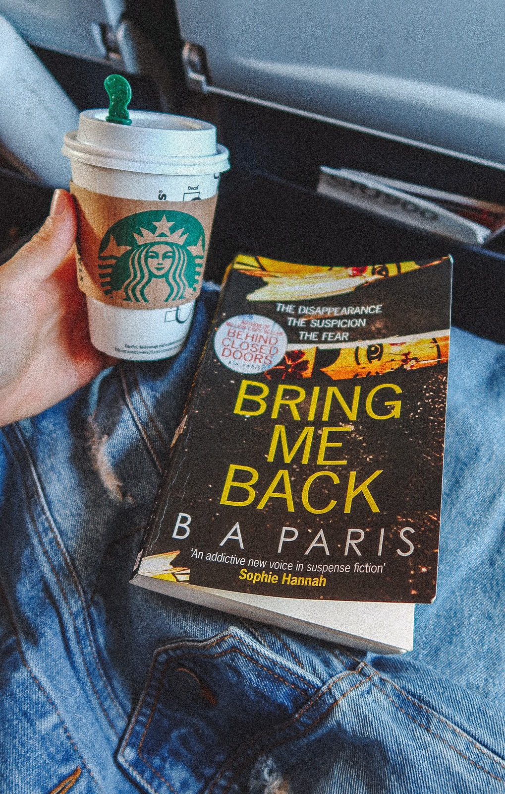 Bring Me Back B.A. Paris Book