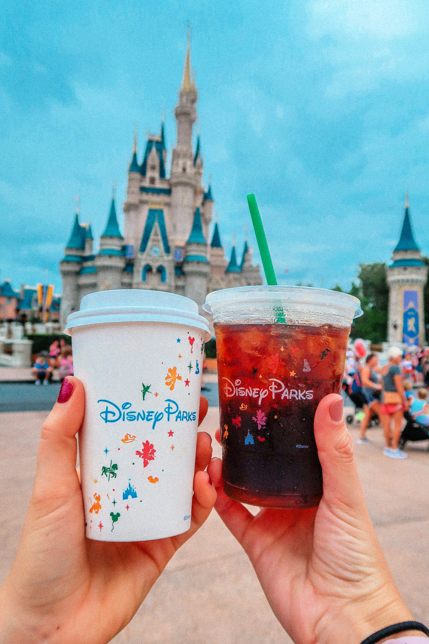 Coffee at Walt Disney World's Magic Kingdom Starbucks Main Street Bakery
