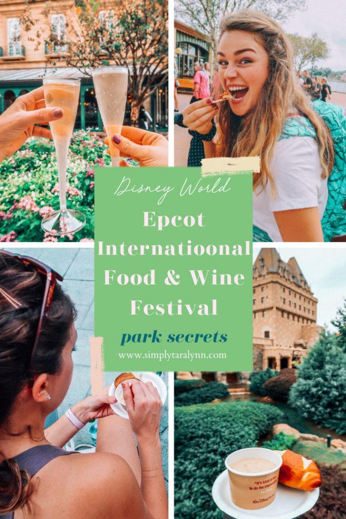 The Epcot International Food & Wine Festival 🍷 🧀