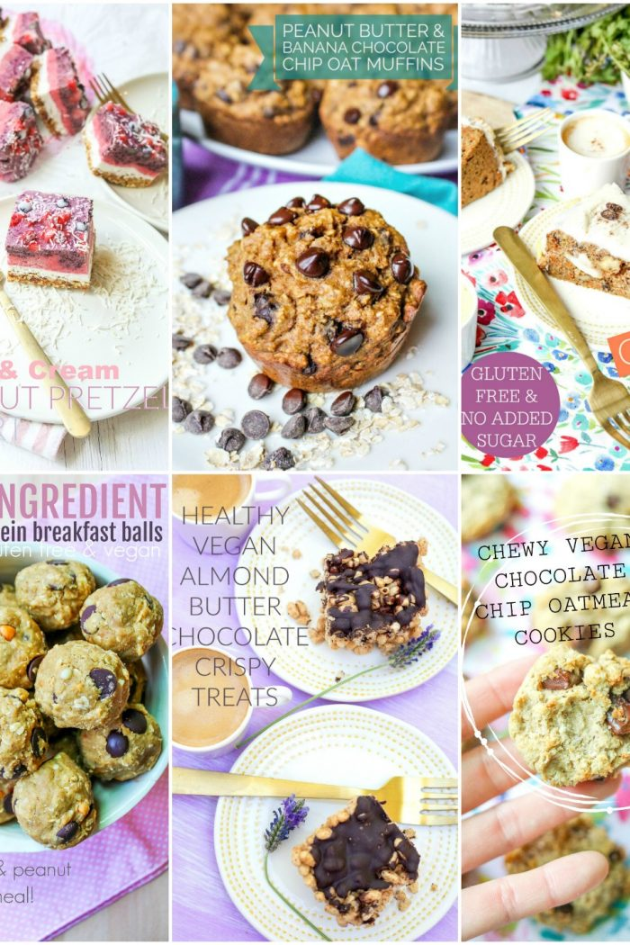 10 Healthy GF & Vegan Recipes to Cure Your Sweet Tooth