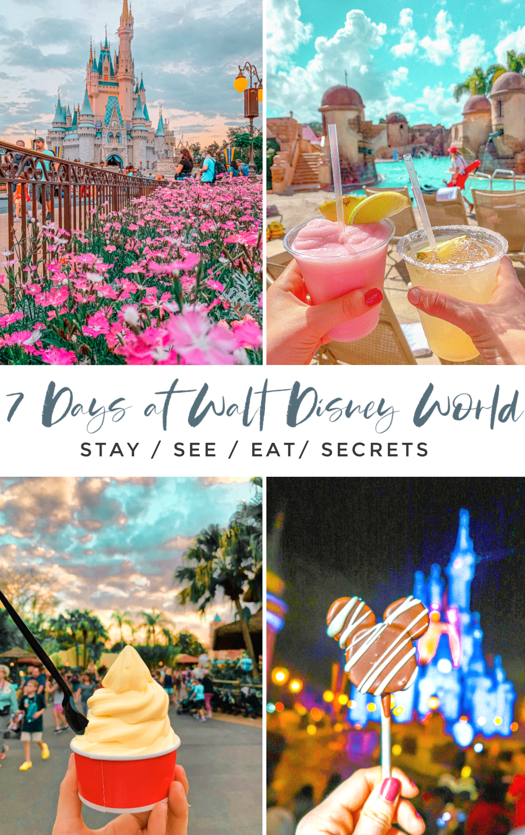 travel guide, walt disney world, disney, disney world, itinerary, where to stay, what to eat, allergy-friendly, healthy disney, disney food, 21 disney, disney for adults, animal kingdom, Epcot, fast passes, magic kingdom, disney springs, disney races, run disney, disney blog, blogger, resort with pool, tips