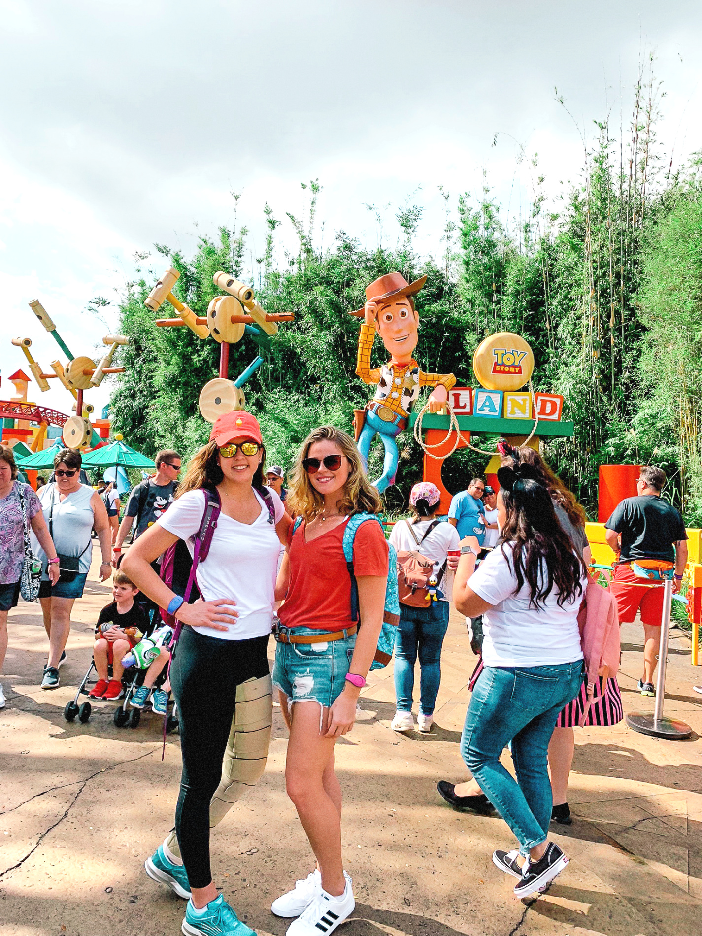 Toy story land Disney Walt Disney World Itinerary Hollywood Studios