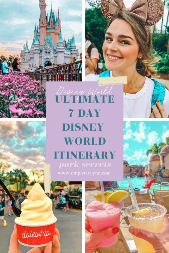 The Ultimate Seven-Day Walt Disney World Itinerary 🥨