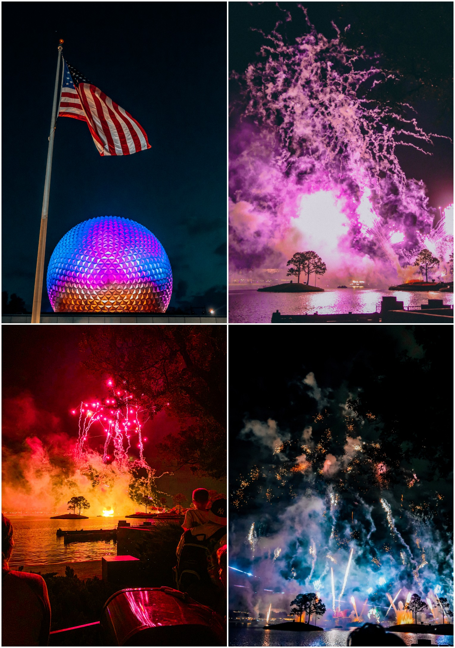 EPCOT LIGHT SHOW WALT DISNEY WORLD