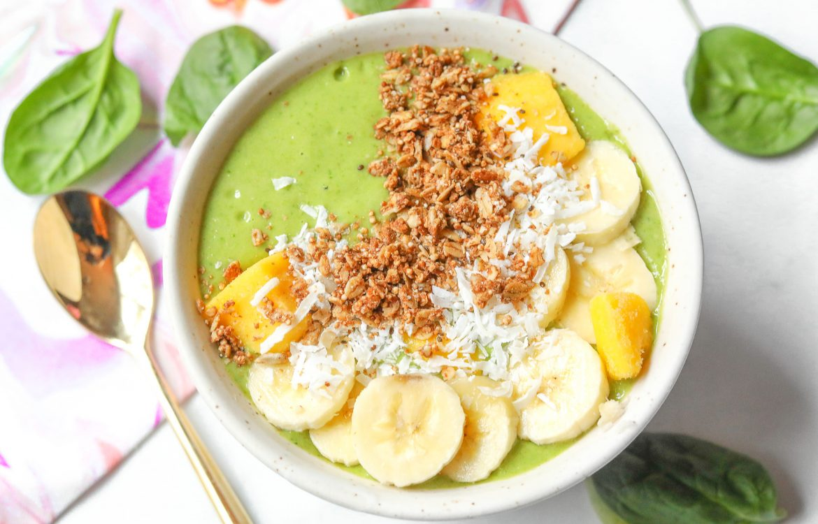 Green Smoothie Bowl Vegan