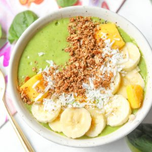 Green Smoothie Bowl Vegan