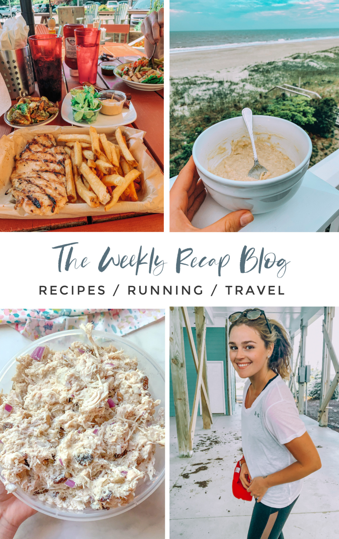 the weekly recap blog, tennis, running, fitness, simply taralynn, weight loss, Charlotte, rock hill, blogging, oatmeal, healthy lifestyle, food, chicken Salak, gluten free, dairy free,