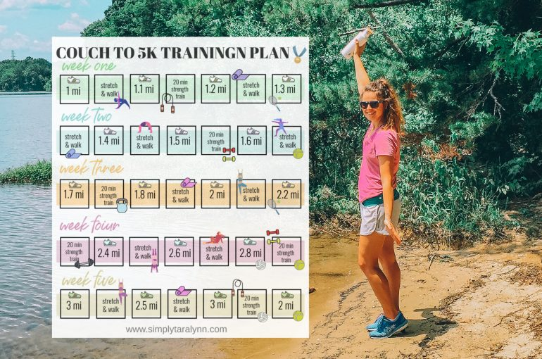 couch to 5k training plan running