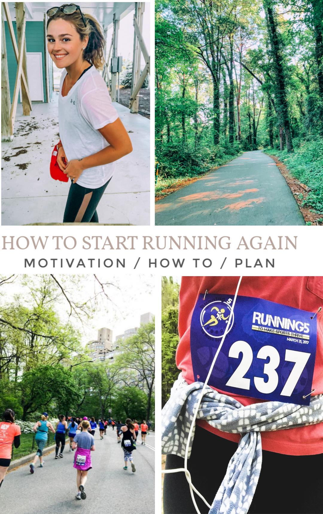 how to start running again, hiatus, running, get back into fitness, running, 5k, fun, get back, motivation, running motivation