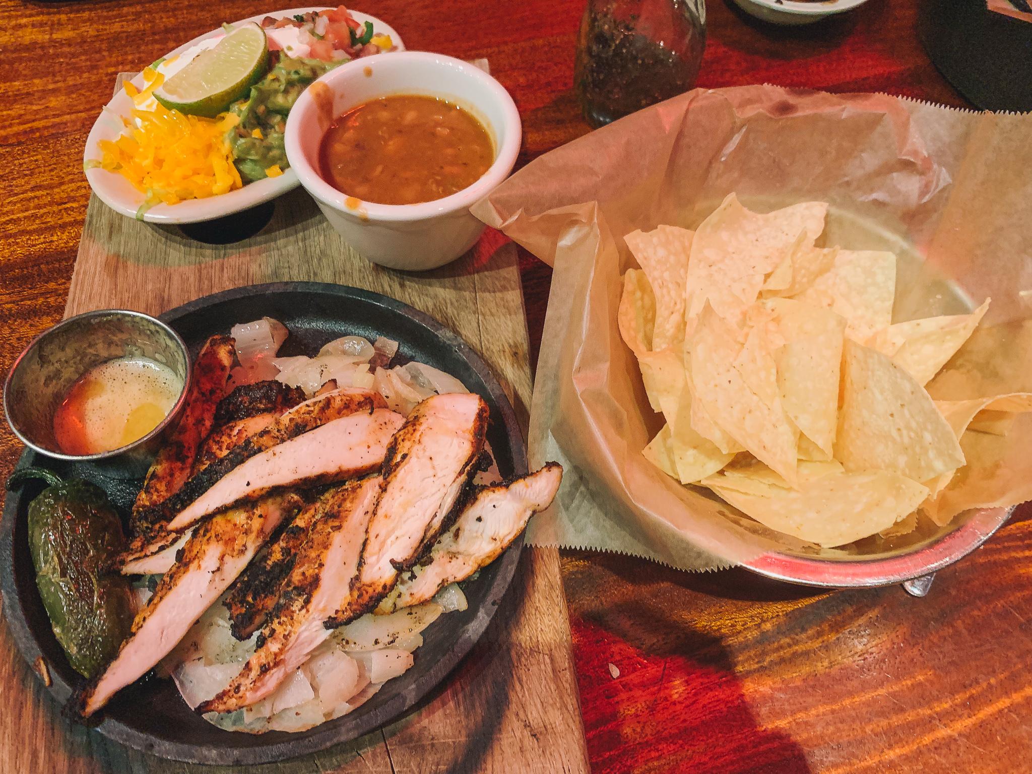 Charlotte southend Mexican restaurant superico fajitas