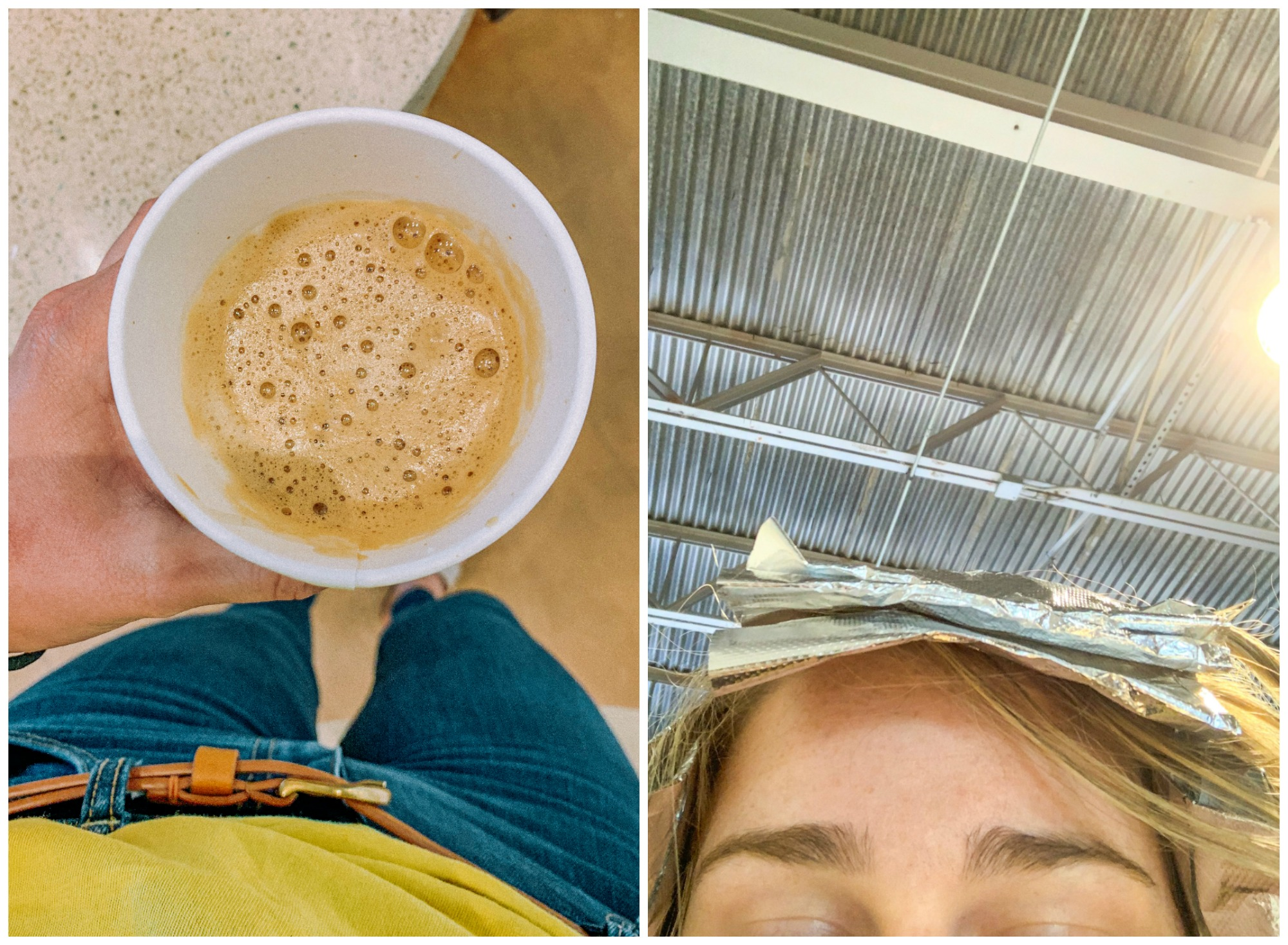 bee day, hair, coffee, Nordstrom, espresso, latte, cappucinno, vegan, mall, hair, aveda, mall, simply taralynn blog, hair