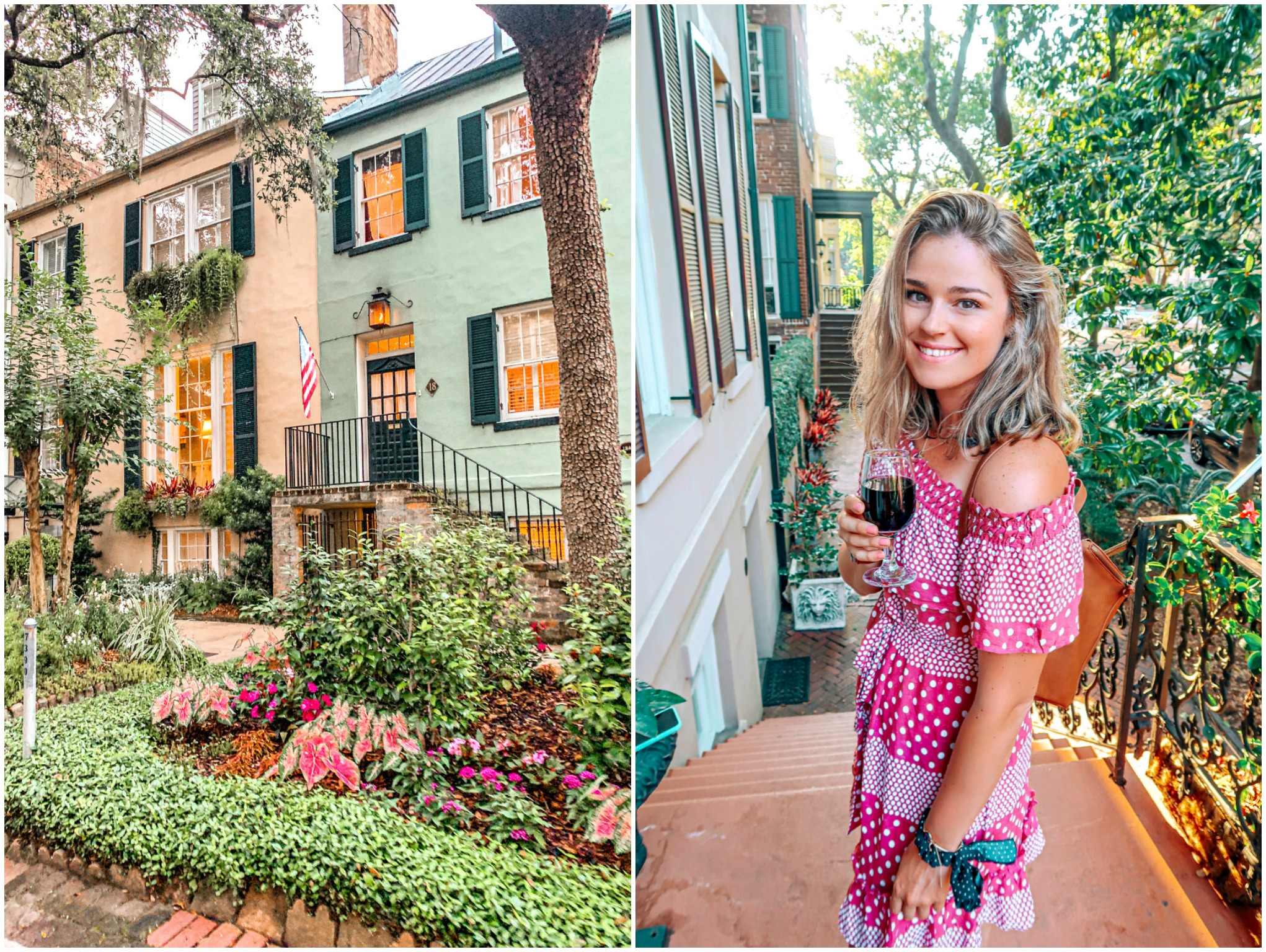 Eliza Thompson bed and breakfast savannah Georgia travel guide