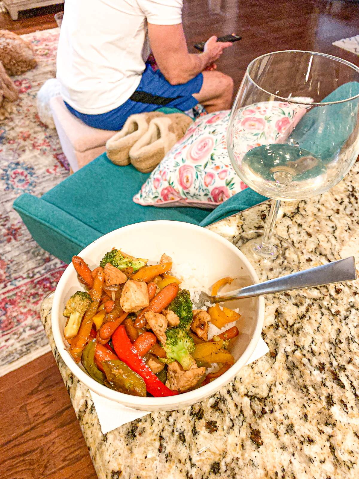 stir fry, healthy gluten free, low carb, chicken, stir fry, peppers, onions, healthy food, blogging