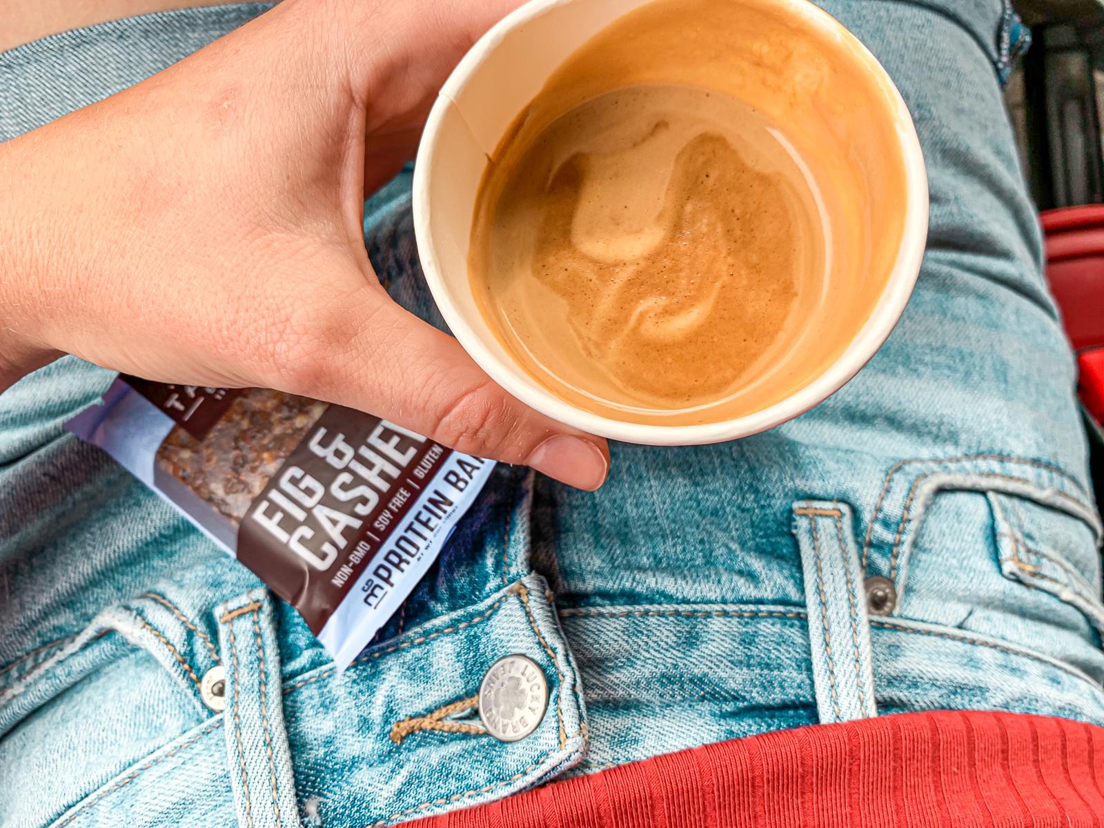 coffe cappuccino, weekly recap post, simply taralynn, dairy free, almond milk