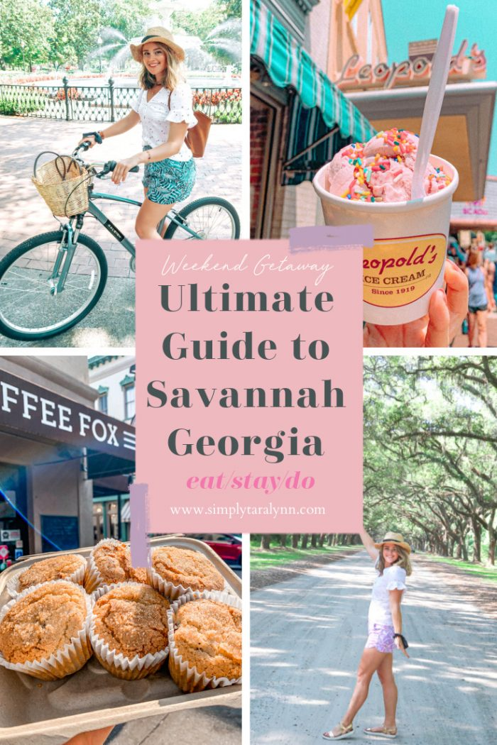 The Ultimate Weekend Travel Guide to Savannah Georgia