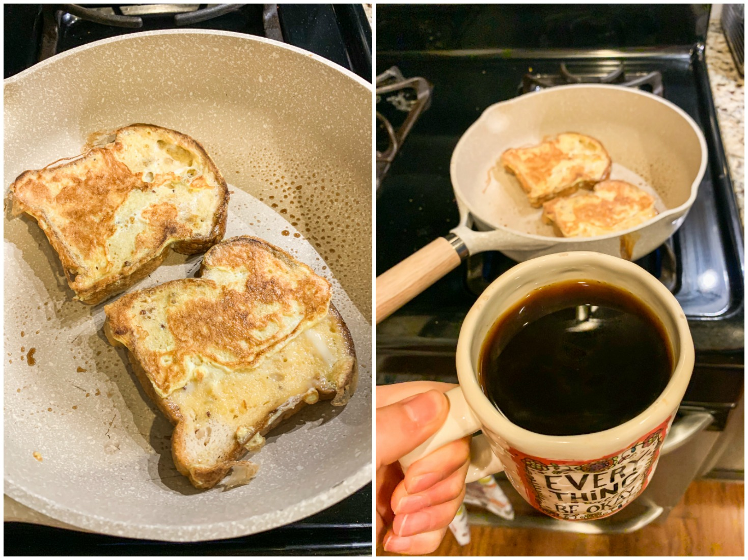 healthy breakfast, French toast, light, gluten free, eggs, low carb, low calorie, easy to make, simply taralynn, recap blog,