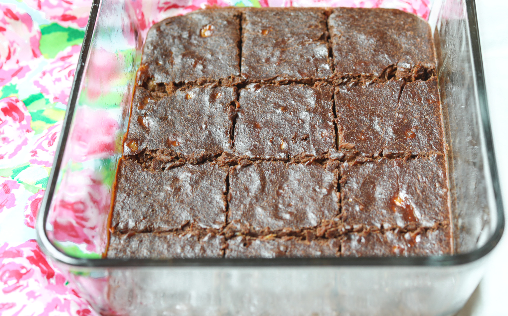 three-ingredient brownies, 3-ingredient brownies- paleo brownies, whole30 brownies, whole30 compliant, whole30 ingredients, whole30 cravings, whole30 dessert, low carb, Whole Foods, dairy free, organic, vegan, plant based, low calorie, healthier food, summer, light, trick your kids, banana, cashew, nut butter, almond butter, banana, low carb, plant based desserts, baking, healthy food, back to school treats, vegan cosmic brownie, gluten free, dairy free, no peanuts, legume free, diet, weight loss brownies, healthy snacking