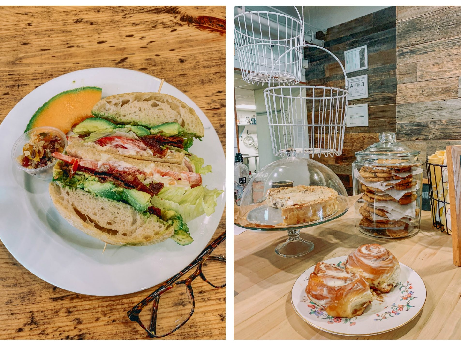 Charlotte nc, coffee shop, breakfast, brunch, Lincoln haberdashery, blt desserts, coffee, oat milk