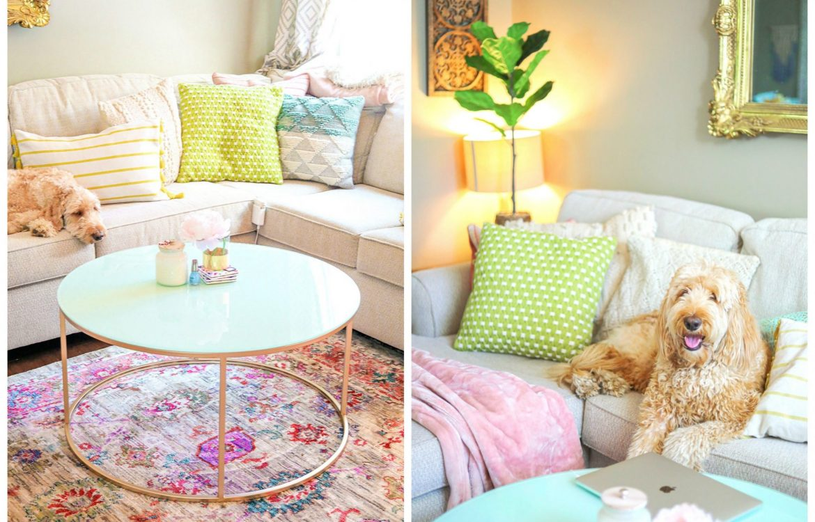living room decor, home decor, simply taralynn, colorful, southern chic, creamy colorful living room, home decor, remodel, colorful living room, cozy, pillows, chairs, entertainment center decor, plants, floral, vintage, home design, interior, decorations, summer feel