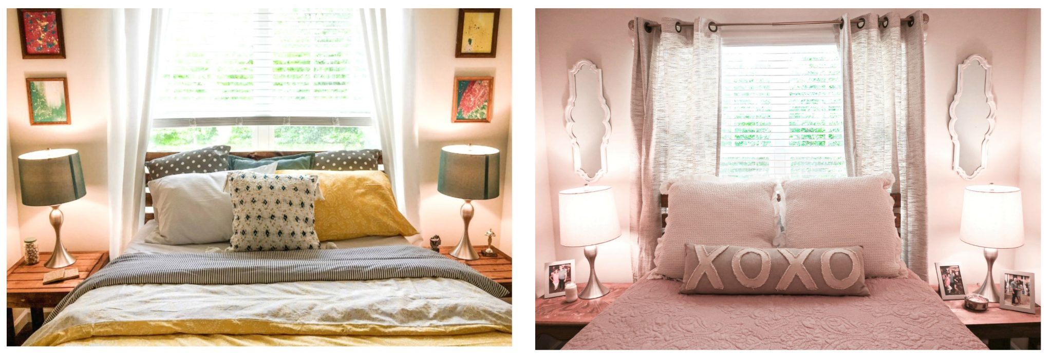 home remodel, room, makeover, cozy home decor, cozy guest bedroom, cozy bedroom, xo xo, soft pink room