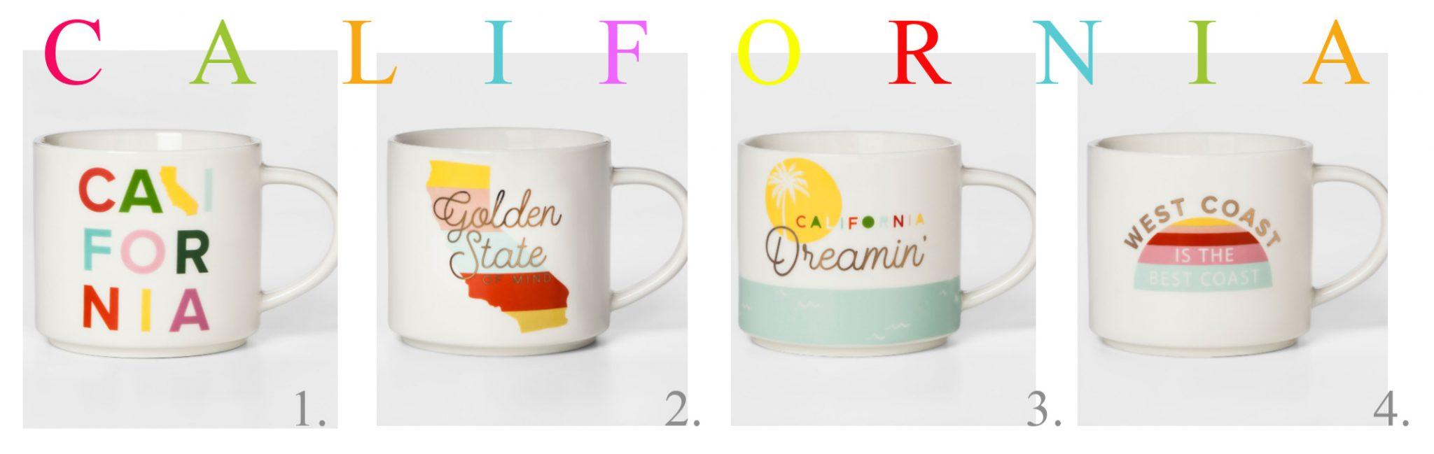 giveaway, California, mugs, travel the coast