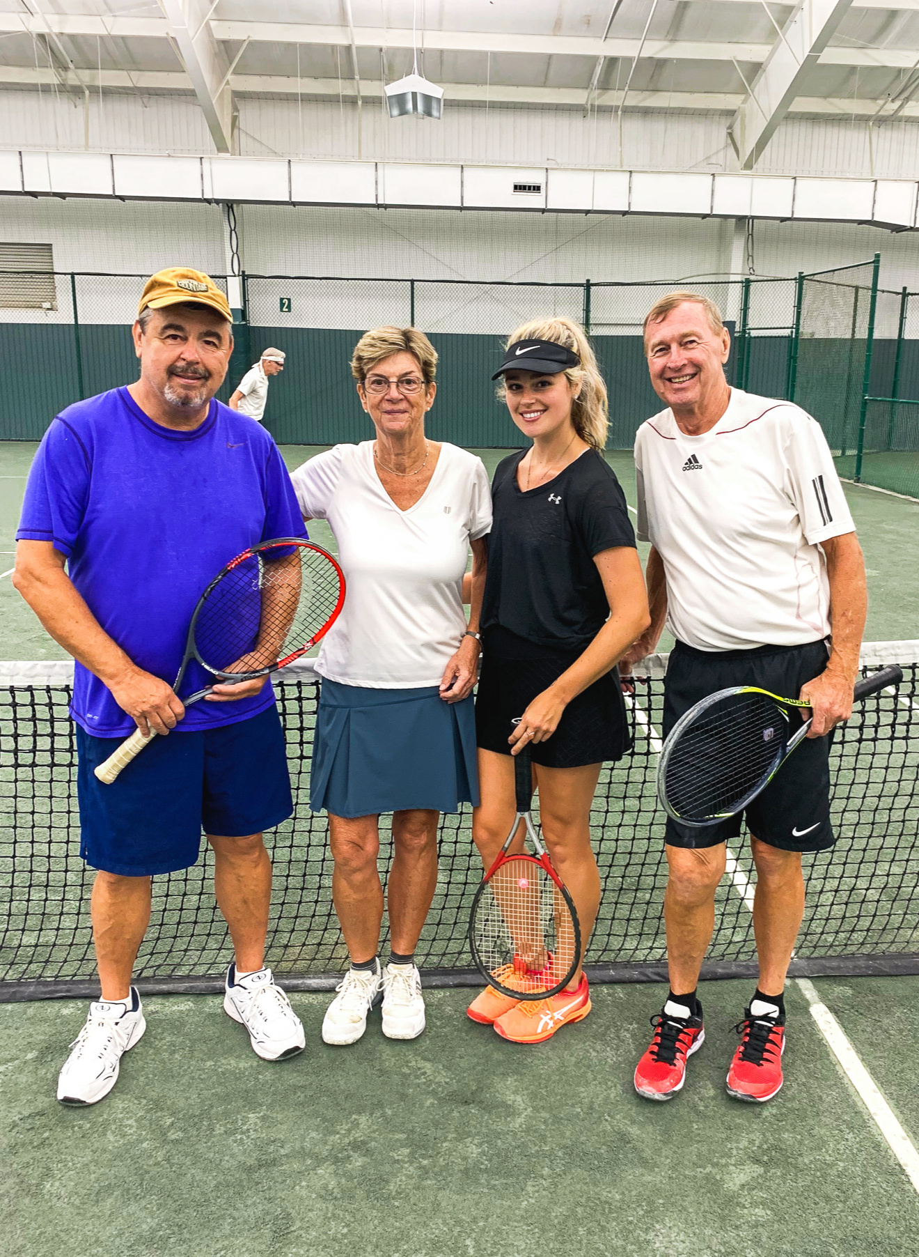 winston salem, North Carolina, indoor tennis, doubles, fitness, simply taralynn, day trip, fun