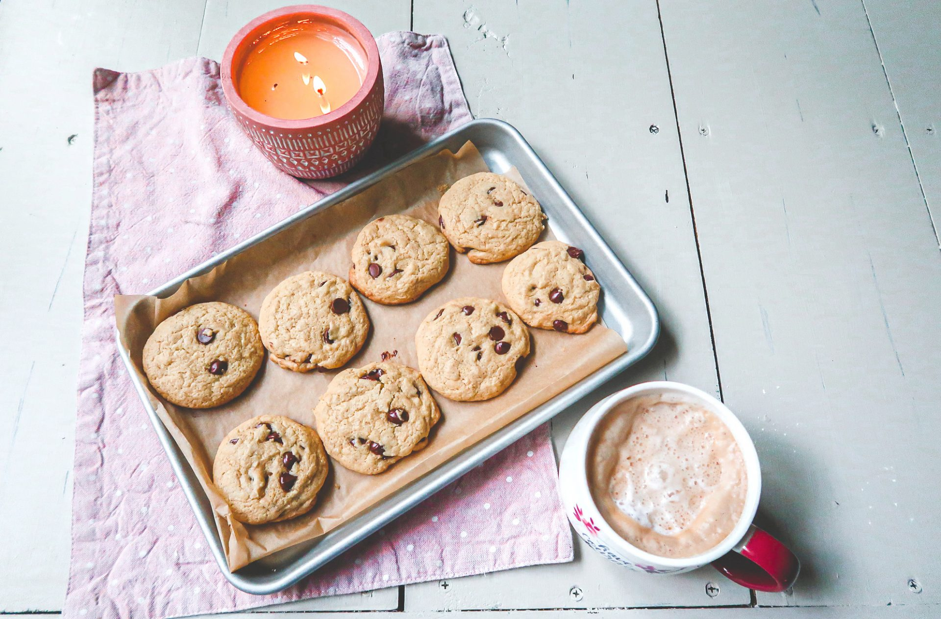 gluten and dairy free, gluten free, dairy free, healthier, light, chocolate chip cookies, delicious, baking, fall baking, chocolate chips, simply taralynn blog