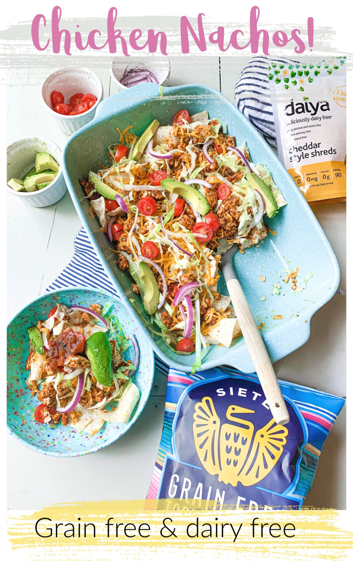 Chicken Nacho Taco Night (Grain Free & Dairy-Free)