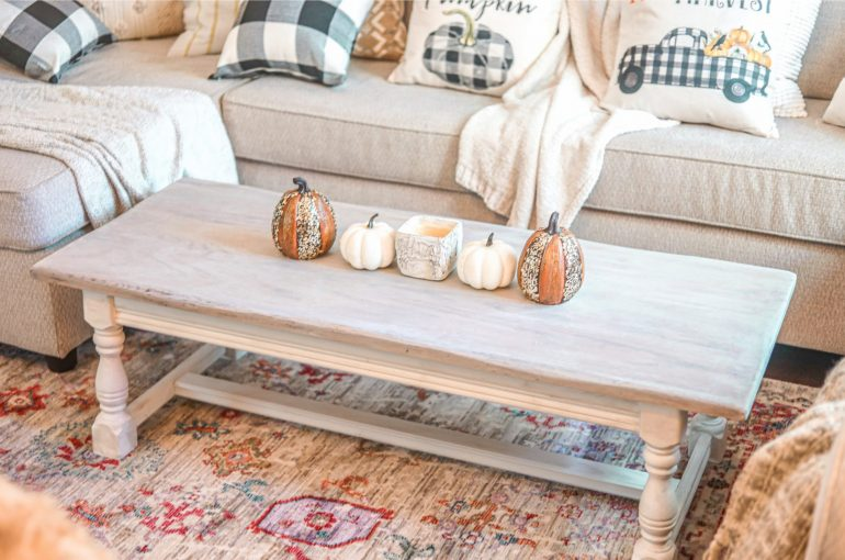 How To Whitewash Distress Furniture Diy Farmhouse Coffee