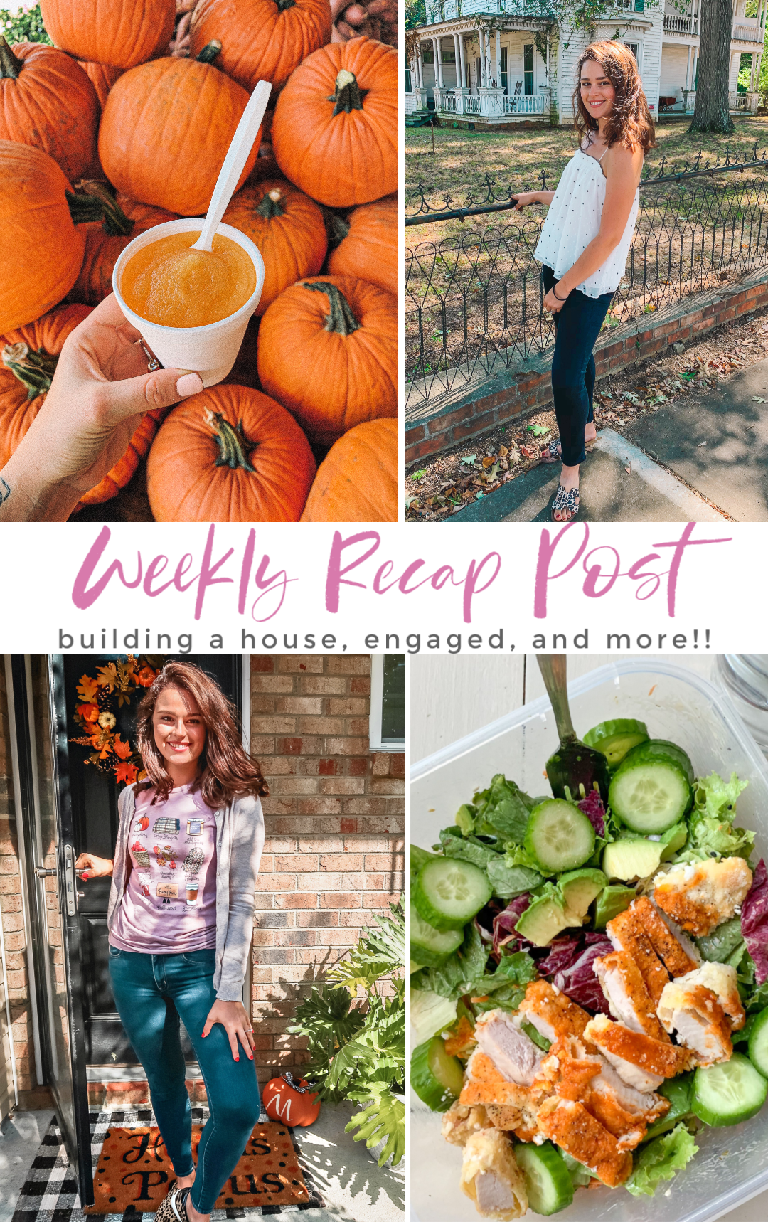 fall, Engagement, moving home, building, fort mill, sc, masons bend, moving, building, home design, north Carolina, fielding homes, moving blog DAY ONE WHOLE30, whole30 diet, whole30 plan, whole30 results, what whole30 did for me, my whole30 journey, 30 days of whole30 , what I ate, target, decor, shopping, black gingham, plaid, wreath, target style, blog, South Carolina, September, first day of fall, home decor bush n vine, farmers market, fall, pumpkin patch, love