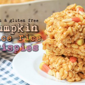 vegan, nut free, Rice Krispies, gluten free, dairy free, fall, pumpkin, pumpkin spice, candy corn, marshmallows, treats, dessert, fun snacking, snacks, holiday, halloween, thanksgiving