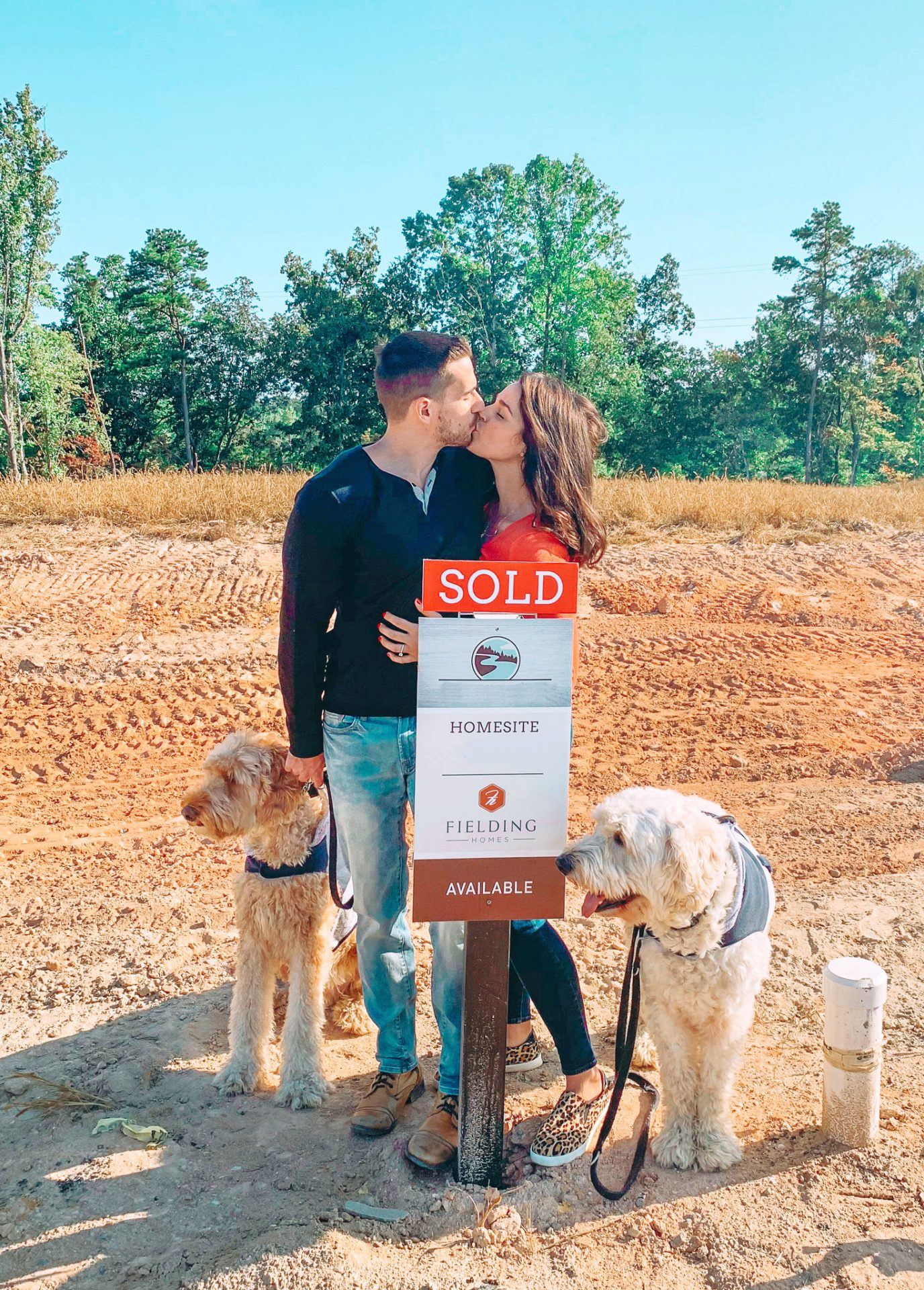 Engagement, moving home, building, fort mill, sc, masons bend, moving, building, home design, north Carolina, fielding homes, moving blog
