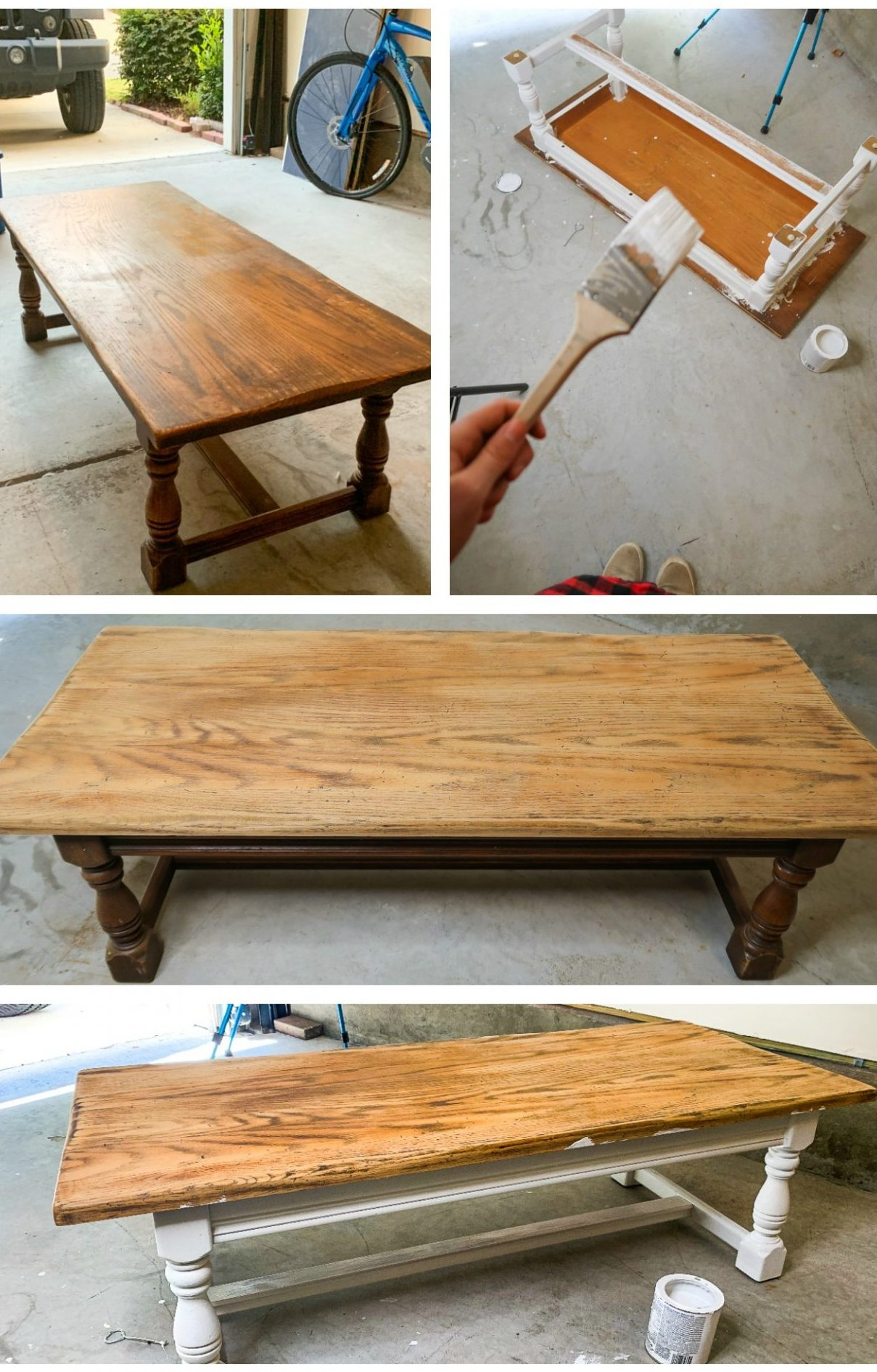 DIY, distressed, white wash furniture , farm house look, how to farm house, distress coffee table, diy farmhouse, pumpkin, fall, coffee table , refurbish project, paint white, chalk paint, home decor, wax furniture, sanding, how to diy, how to refurbish, before and after coffee table